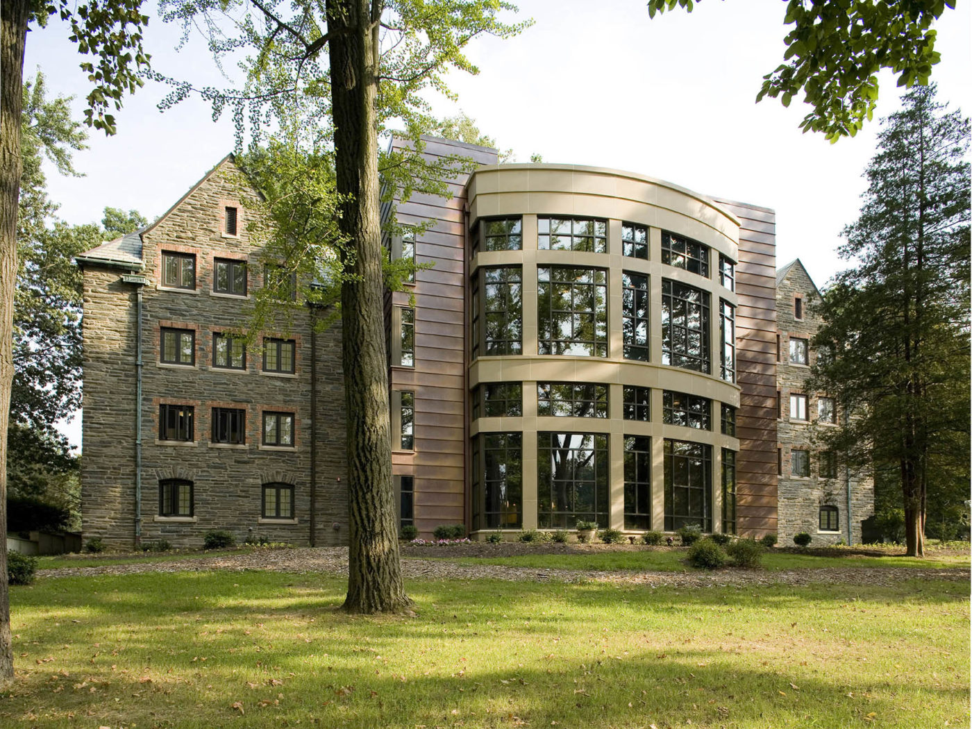 Connelly Hall, Rosemont College, dormitory, architecture, college