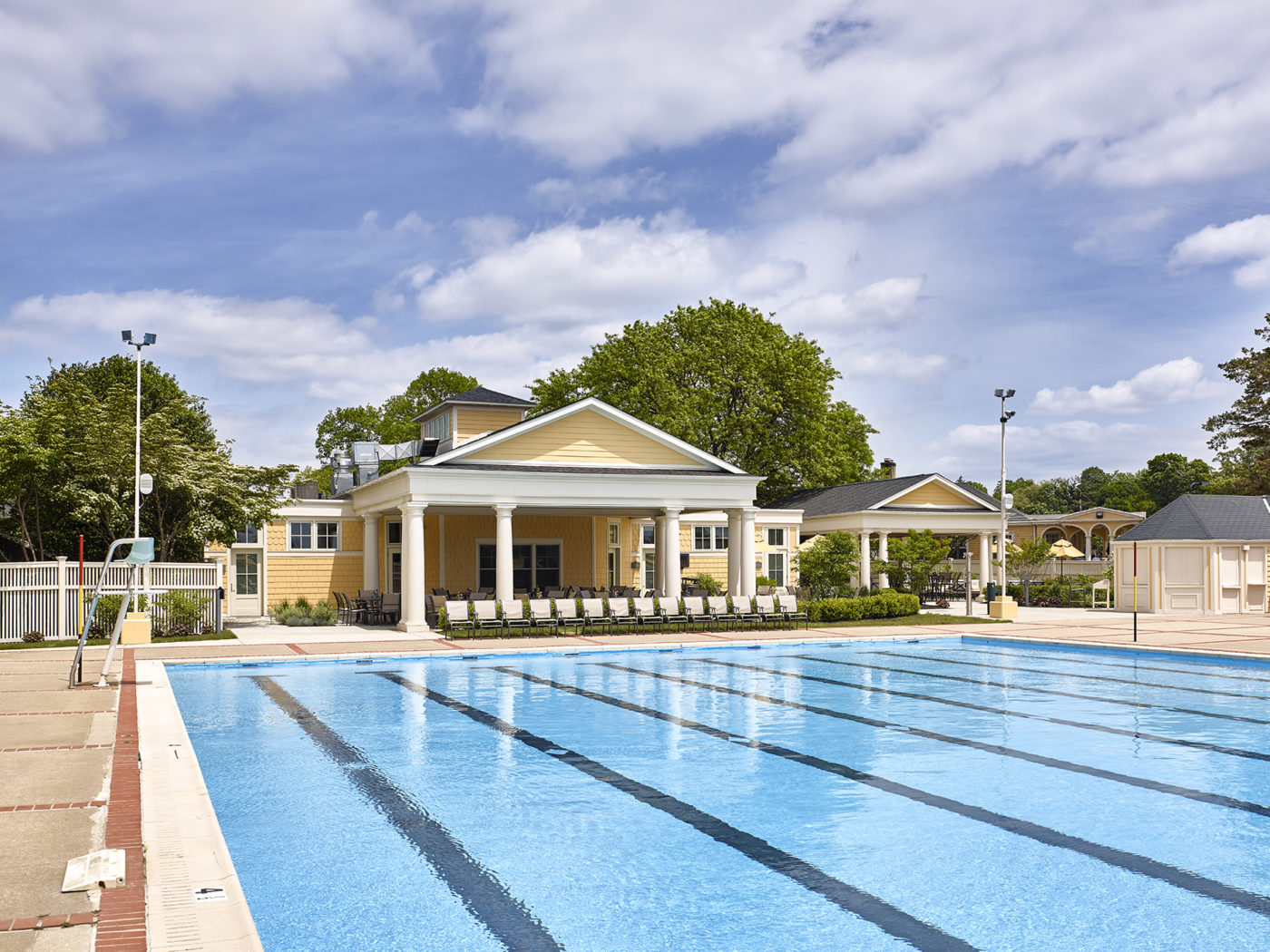 Philadelphia Cricket Club, Pool, Pool House & Snack Bar