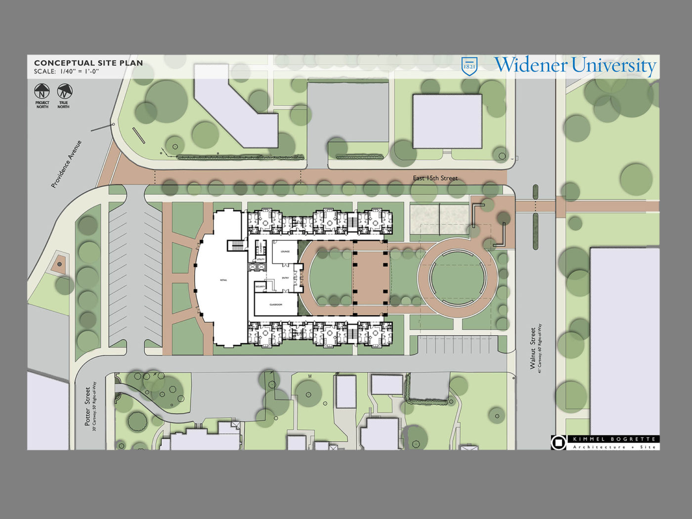 widener site plan c
