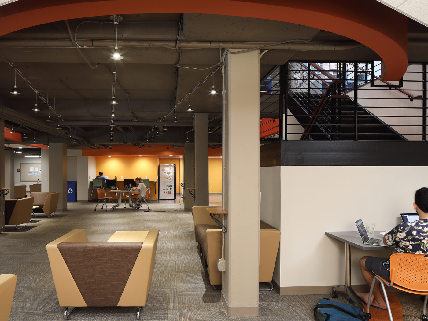 Haverford College Dining Lower Level2