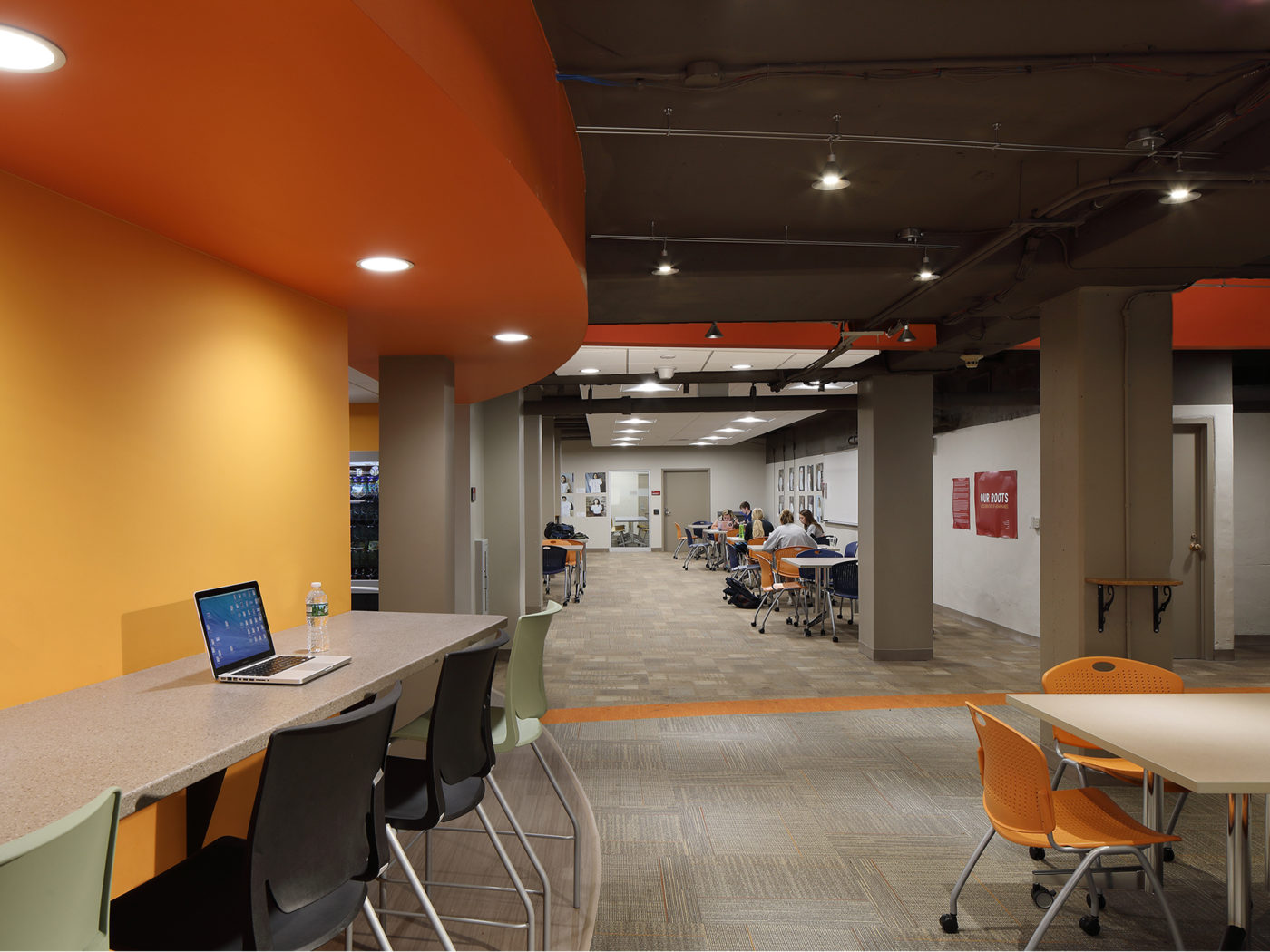 Haverford College Dining Lower Level3