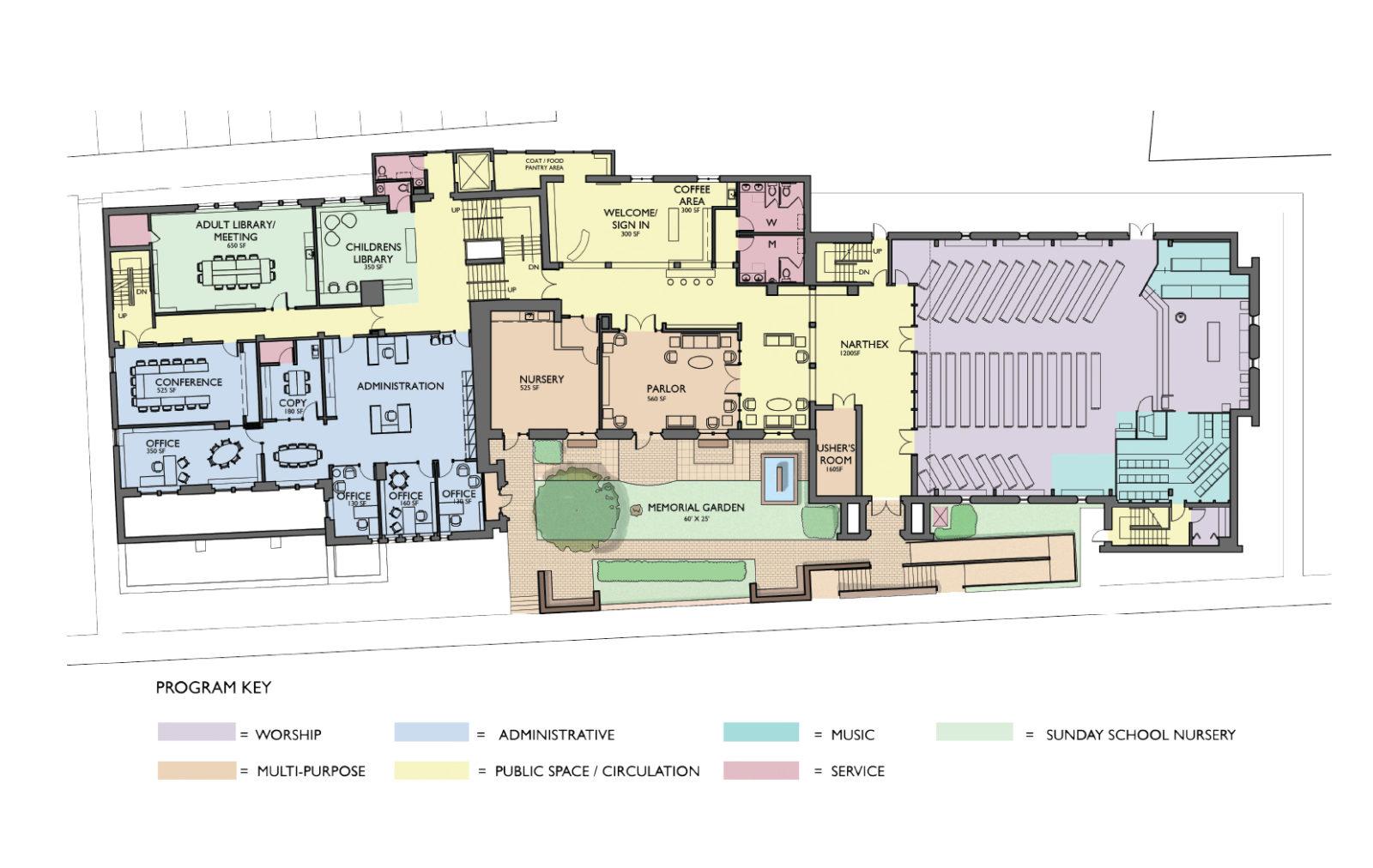 FPCA Floorplan
