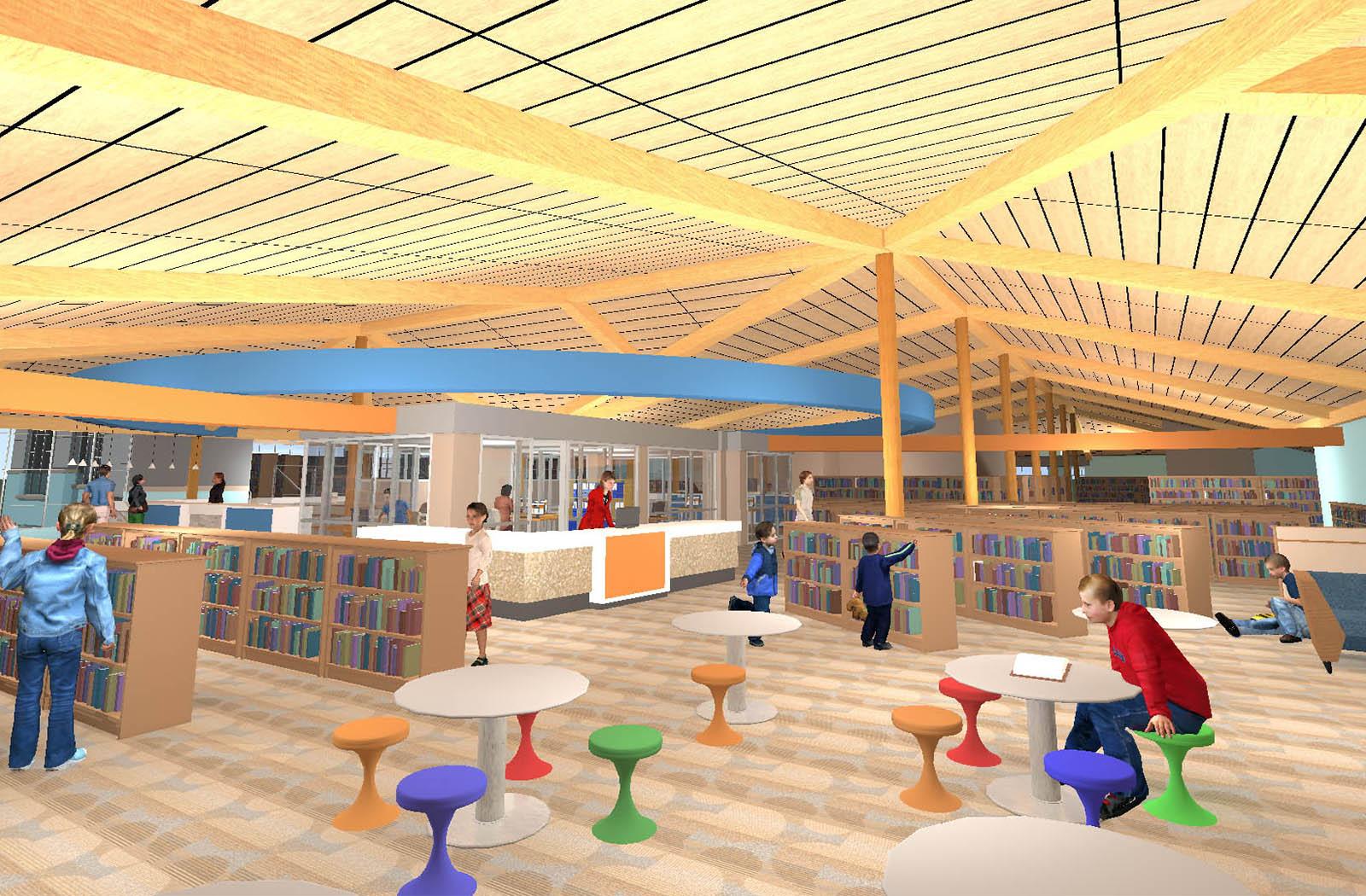Radnor Library Interior